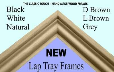 NEW Personalised Photo Lap Tray Hand Made Decorative Frame