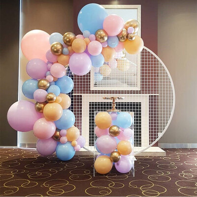 Colourful Macaron Latex Balloons Helium Balloon Garland Arch Kit for Party Wedding Birthday Toy Globos Party Balloons Decoration