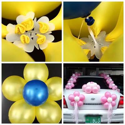 Flower Balloons Decoration