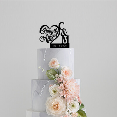 Happily Ever After Cake Topper Cake Topper