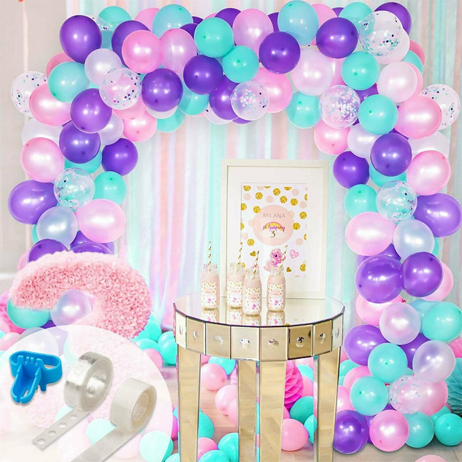 Balloons Garland Arch Kit Party Decor,Craft Supplies & Party ,Wedding Balloon Kit,Party Balloon Decoration,Craft Supplies