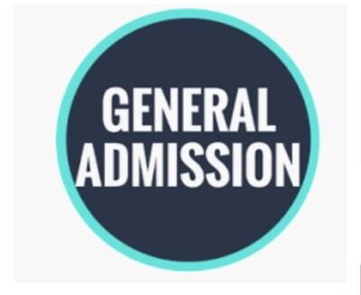 Advance  Saturday General Admission