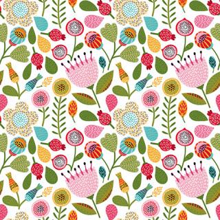 Napkins Folk Floral