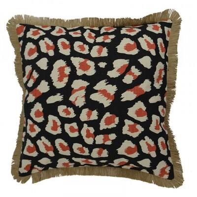 Leopard Cotton Cushion