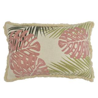 Moana Leaf Cotton Cushion
