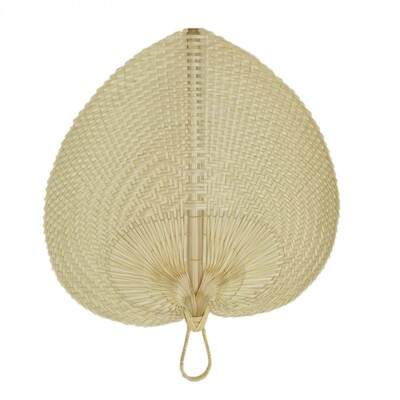 Mesi Bamboo Wall Fan