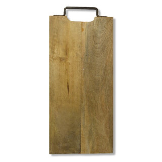 Mango Wood Server with Metal Handle