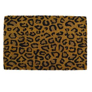 Door Mat Leopard Print