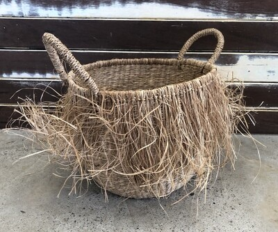 Hulu Seagrass Basket - Small