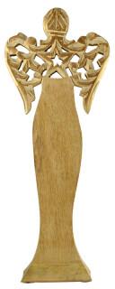 Mango Wood Standing Angel