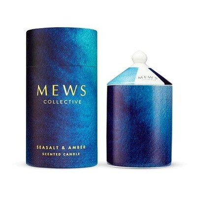 MEWS Candle 320g - Seasalt and Amber