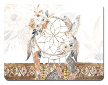 Placemats Set of 6 - Rectangle Barn Owl