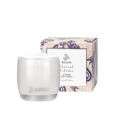 Urban Rituelle Scented Soy Candle - Coconut and Lotus