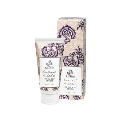 Urban Rituelle Hand and Body Lotion 60ml - Coconut and Lotus