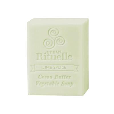 Urban Rituelle Organic Cocoa Butter Vegetable Soap - Lime Splice