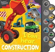 I can hear..... Construction - 10 Button Super Sounds Book
