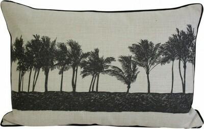Cushion Palm Row