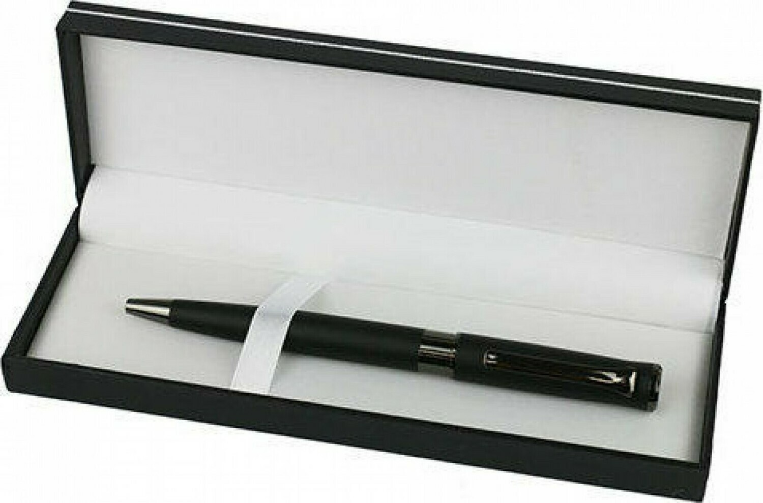 Pen Black Matte with Silver - Boxed