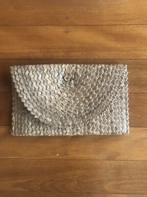 Clutch Bag - Brown