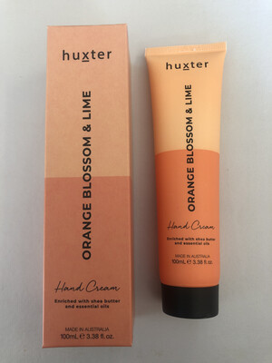 Huxter Hand Cream Orange Duo - Orange Blossom And Lime