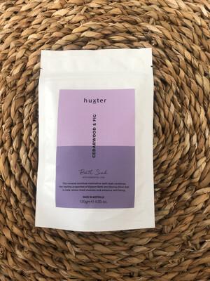 Huxter Bath Soak - Cedarwood And Fig
