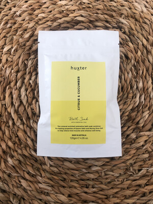 Huxter Bath Soak - Citrus And Cucumber