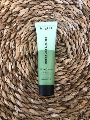 Huxter Hand Cream Mini Green Duo - Bergamot And Amber