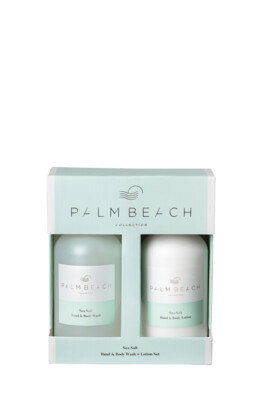 Palm Beach Hand And Body Wash And Lotion Gift Pack - Sea Salt