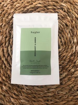 Huxter Bath Soak - Bergamot And Amber