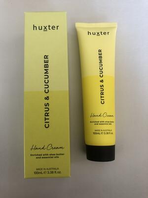 Huxter Hand Cream Yellow Duo - Citrus And Cucumber