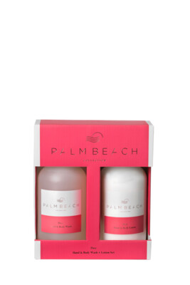 Palm Beach Hand And Body Wash And Lotion Gift Pack - Posy