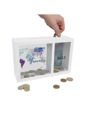 Change Box - 2 Compartments - Travel And Bills