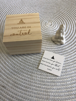 Pocket Promise Box - Zen You Are In Control