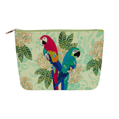 Cosmetic Purse - Macaws