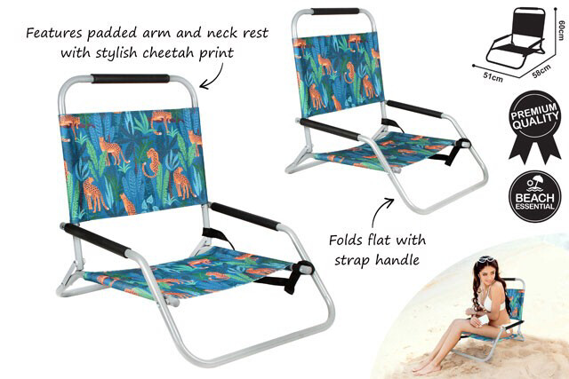 Beach Chair Folding - Jungle Safari