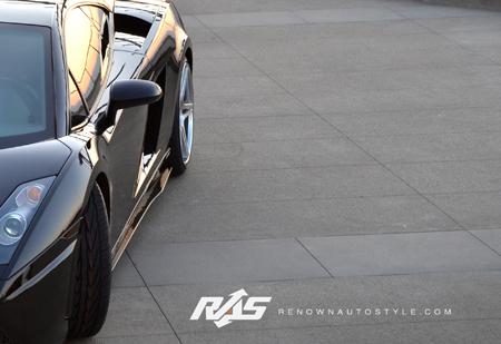 R70 SL Side Skirts Carbon Fiber