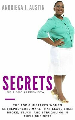 Secrets of A Socialprenista [AUDIO BOOK]