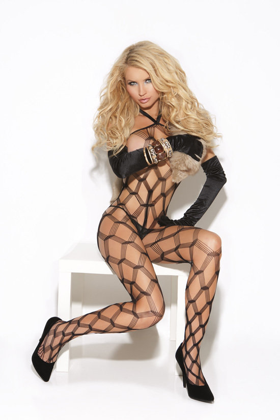 Diamond Net Body Stocking