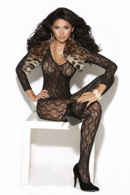 Long Sleeve Lace Body Stocking