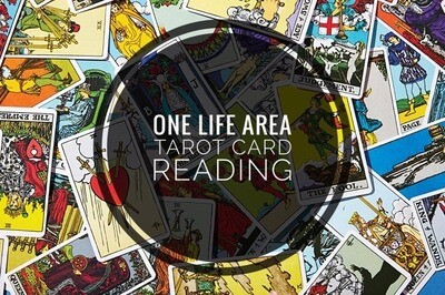One Life Area Tarot Card Reading by Email