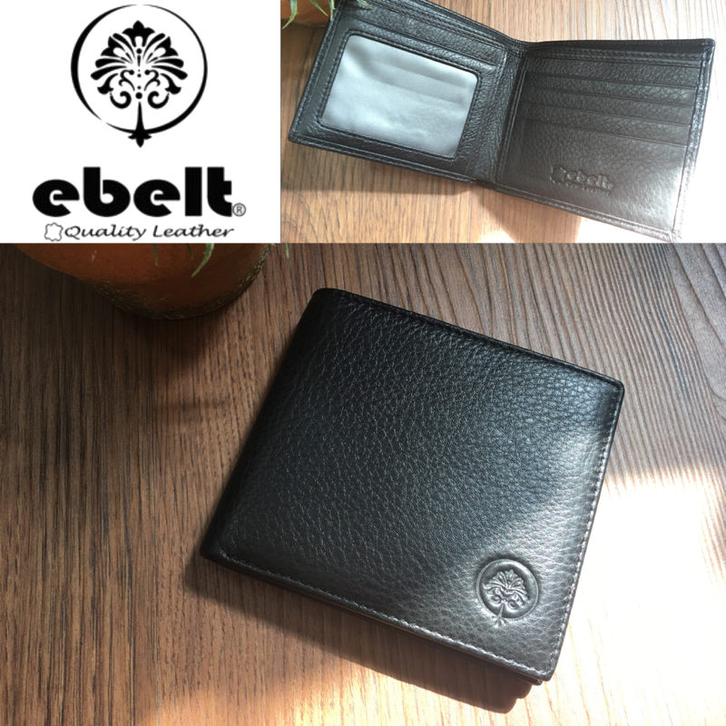 ebelt 頭層牛皮銀包 Full Grain Cow Leather Wallet - WM0076