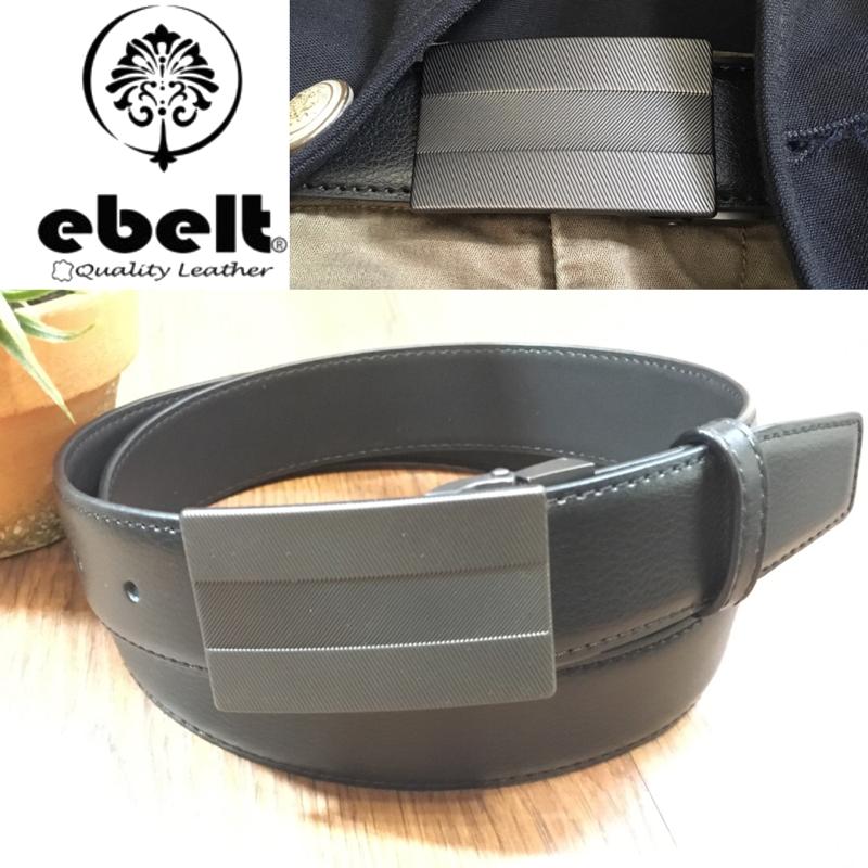 ebelt 牛皮皮帶 / 正裝皮帶 Cow Split Leather Dress Belt 3.3 cm - ETV100