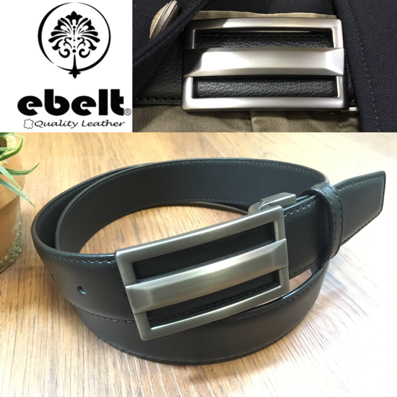 ebelt 光面牛皮皮帶 / 正裝皮帶 Cow Split Leather Dress Belt 3.3 cm - ETV102
