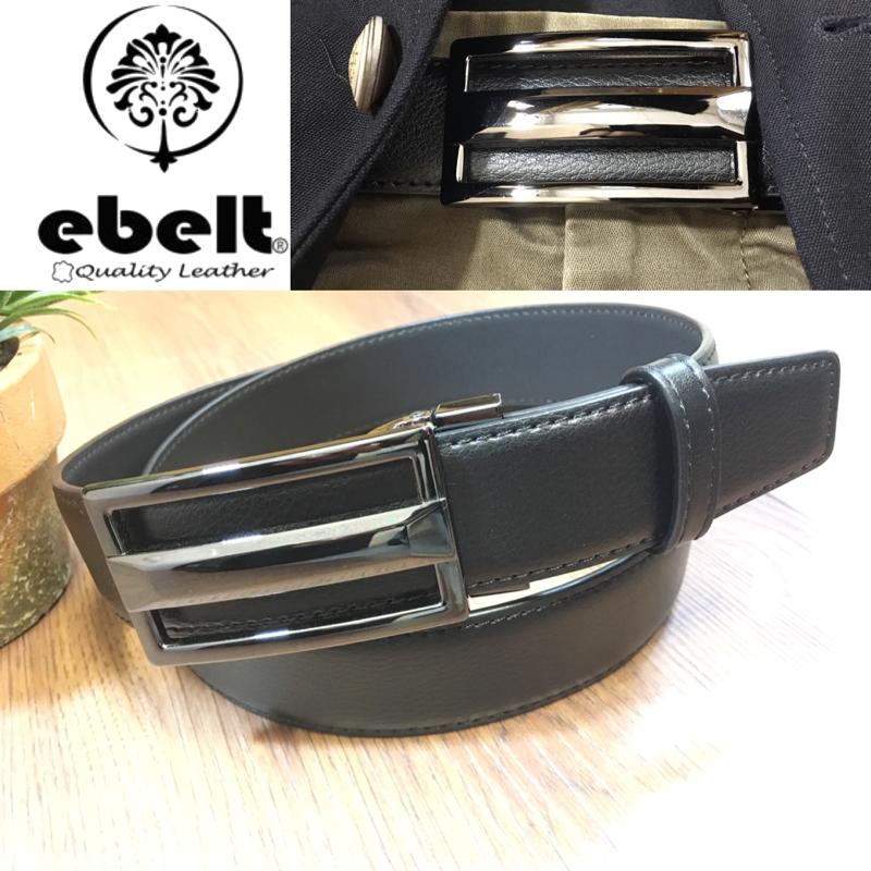 ebelt 牛皮皮帶 / 正裝皮帶 Cow Split Leather Dress Belt 3.3 cm - ETV103