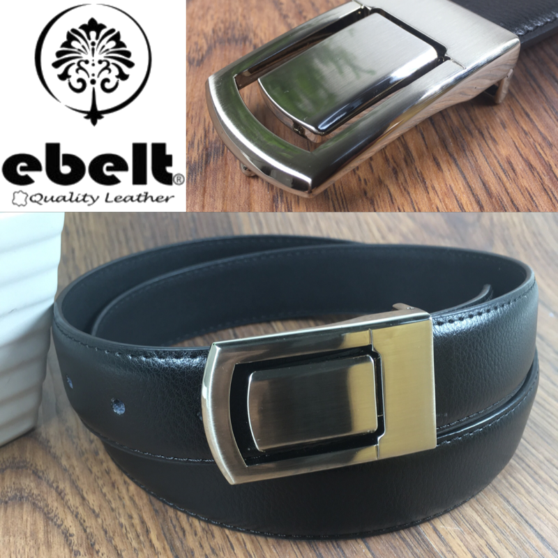 ebelt 牛皮皮帶 / 正裝皮帶 Cow Split Leather Dress Belt 3.3 cm - ebm0124M