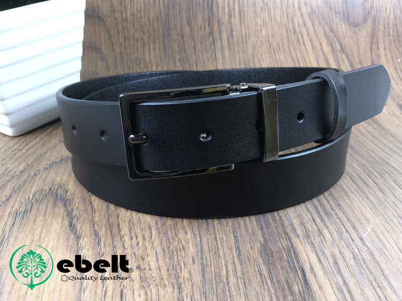 ebelt 不夾層光面牛皮皮帶 PATENT SPLIT LEATHER BELT 2.9cm- ebc0316B