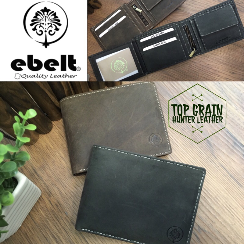 ebelt 頭層獵人水牛皮銀包 Full Grain Buffalo Hunter Series Leather Wallet - WM0118