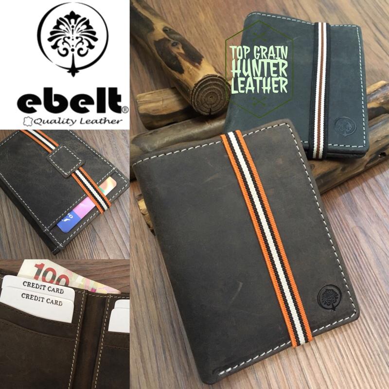 ebelt 頭層水牛獵人皮輕巧銀包 Full Grain Buffalo Hunter Series Leather Slim Wallet - WM0116