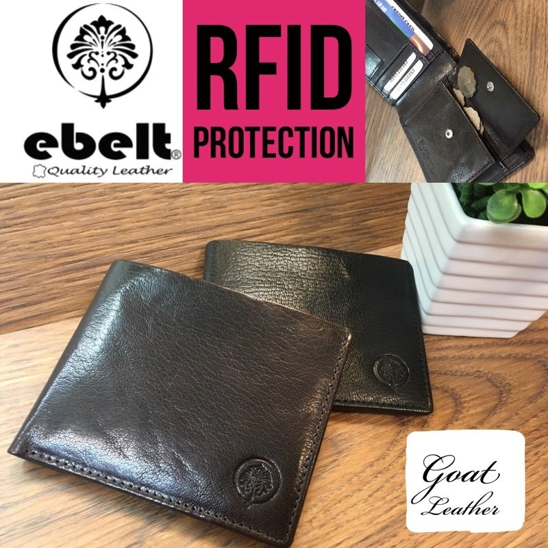 ebelt RFID 頭層山羊皮銀包 Full Grain Goat Leather Wallet - WM0113