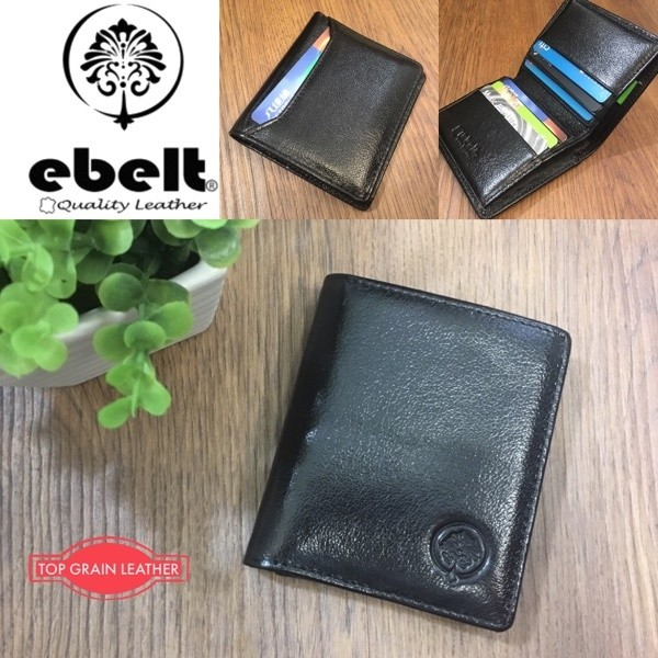 ebelt 頭層水牛皮薄銀包 Full Grain Buffalo Leather Slim Wallet - WM0125